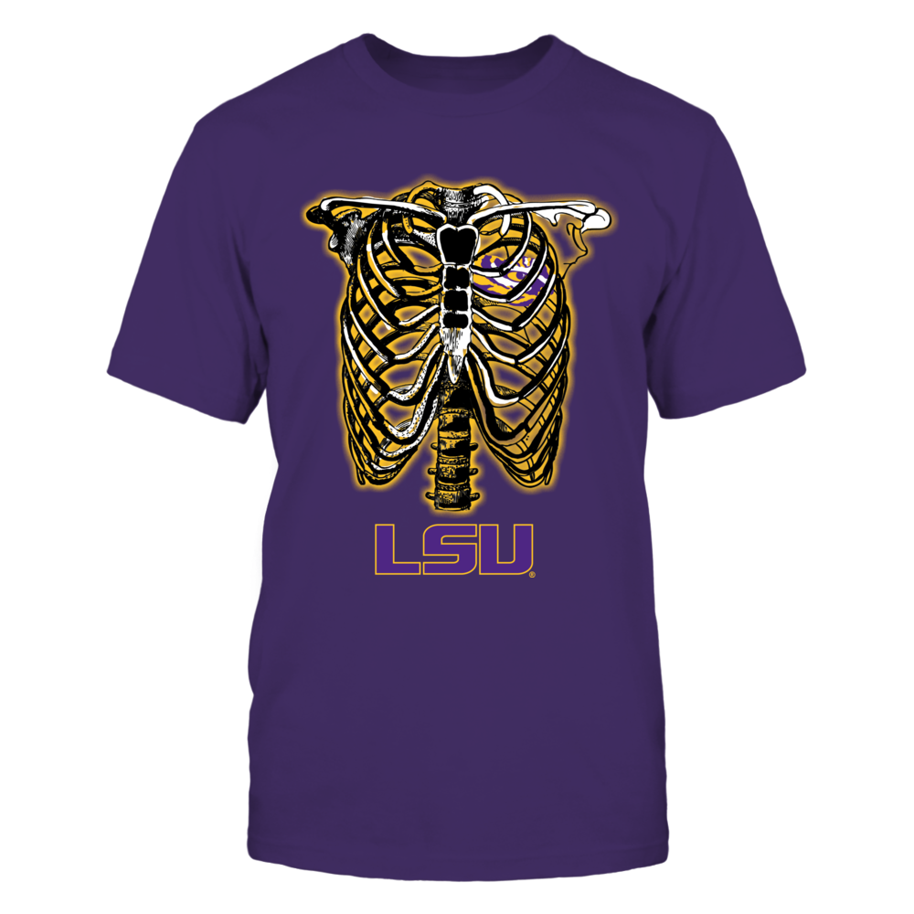 LSU Tigers - Skeleton Front picture