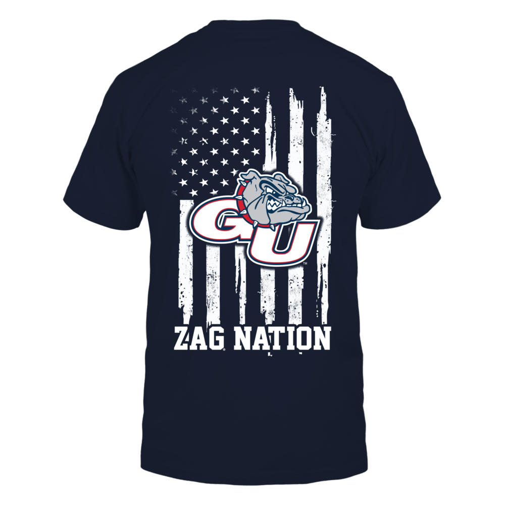 Gonzaga Bulldogs - Nation Flag Back picture