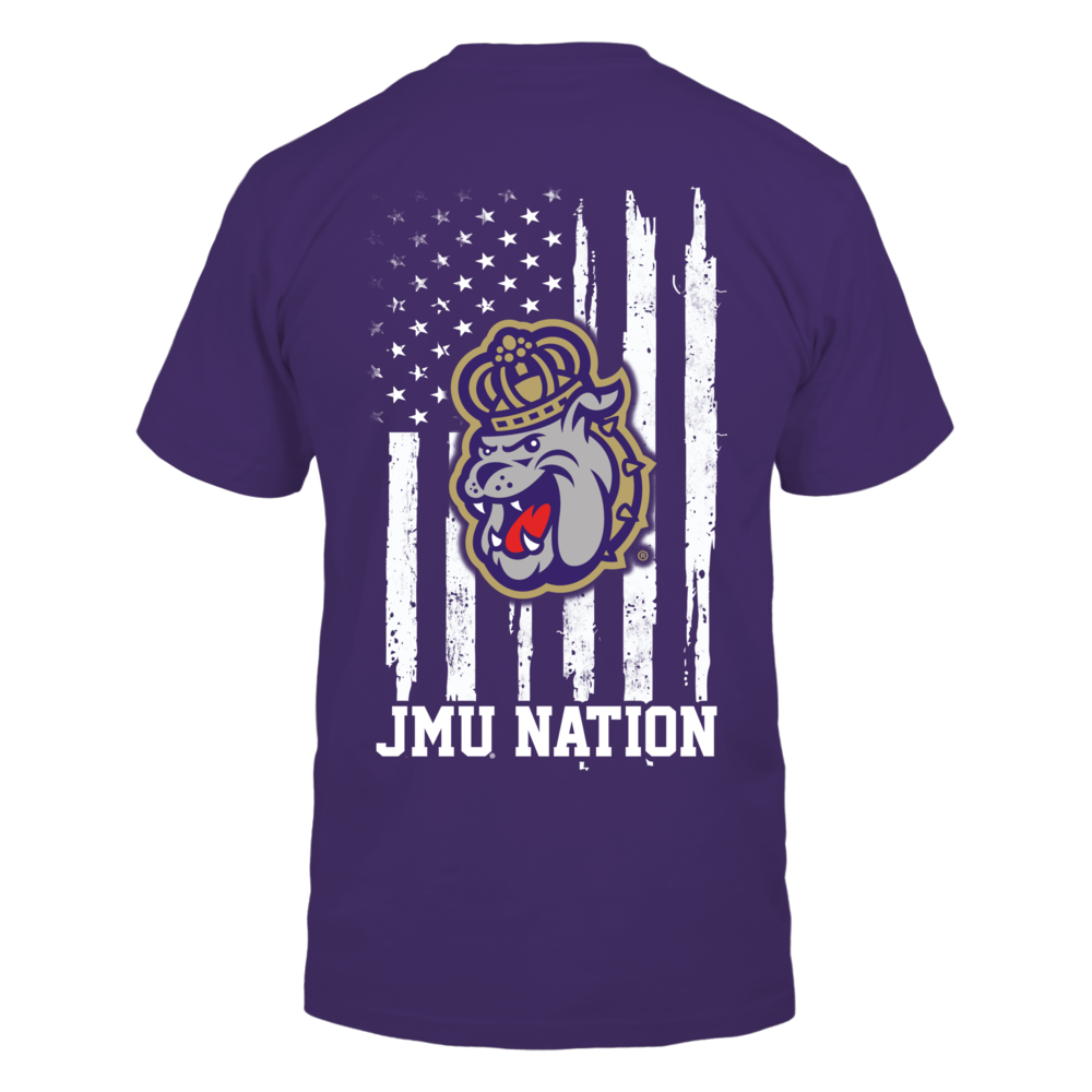 James Madison Dukes - Nation Flag Back picture