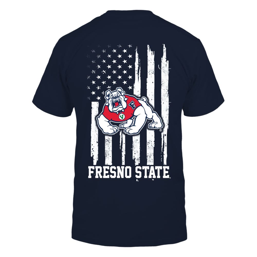 Fresno State Bulldogs - Nation Flag Back picture