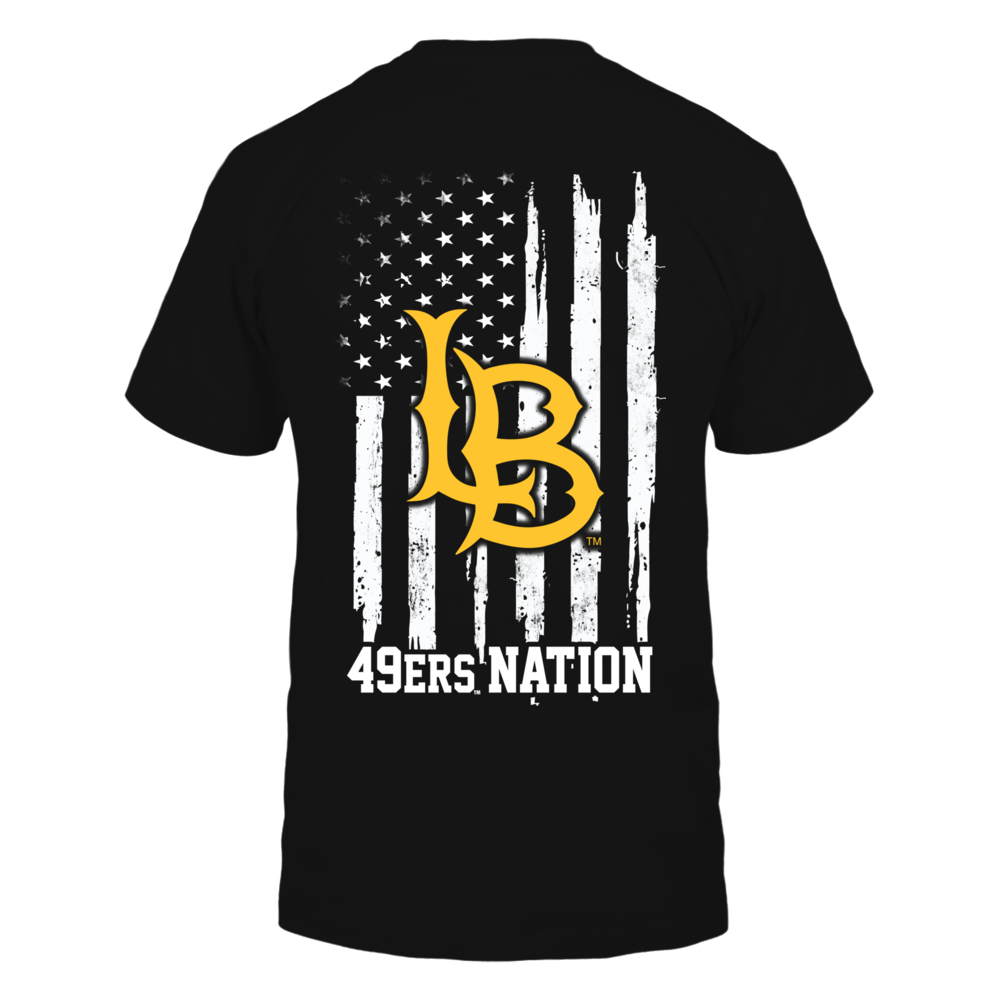 Long Beach State 49ers - Nation Flag Back picture