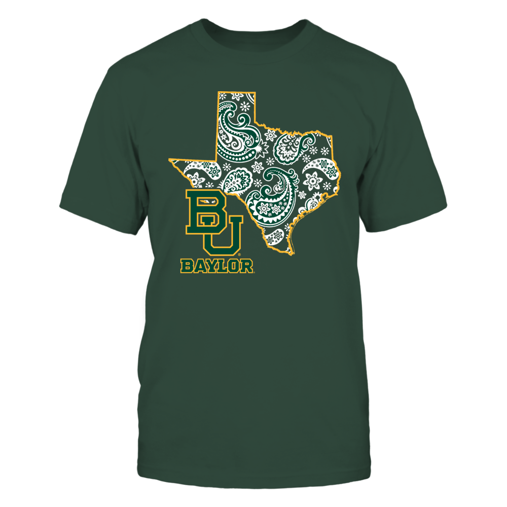 Baylor Bears - State map pattern Front picture
