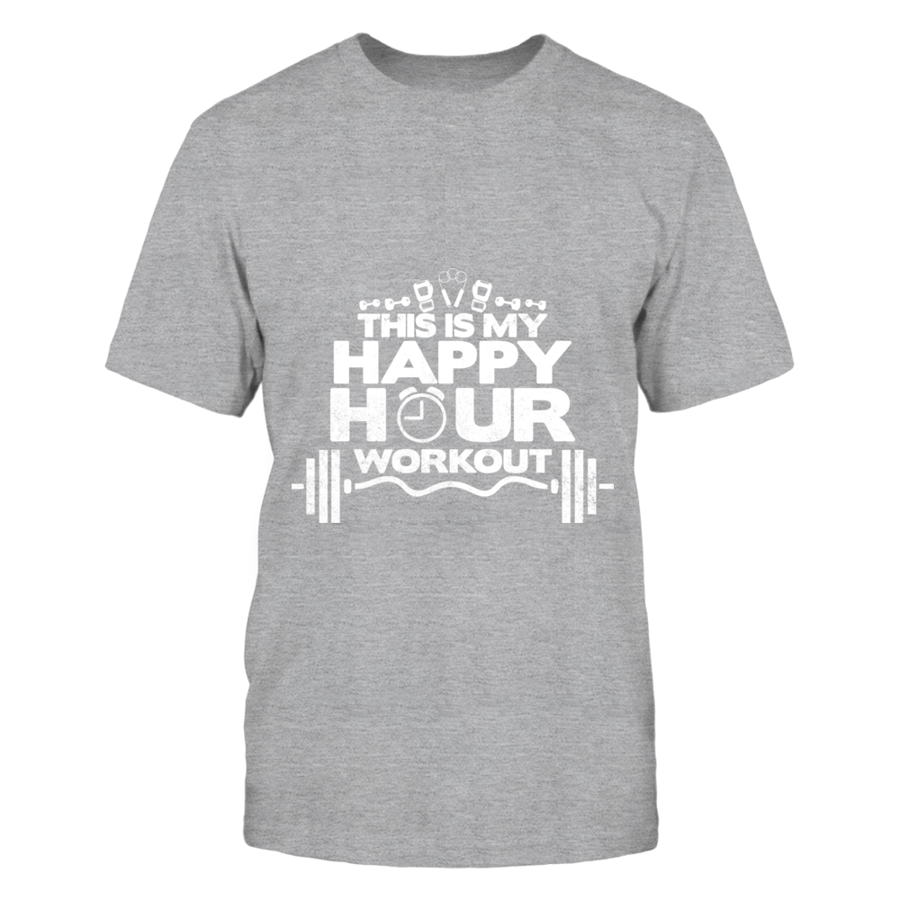 TShirt Hoodie This Is My Happy hour Workout FanPrint