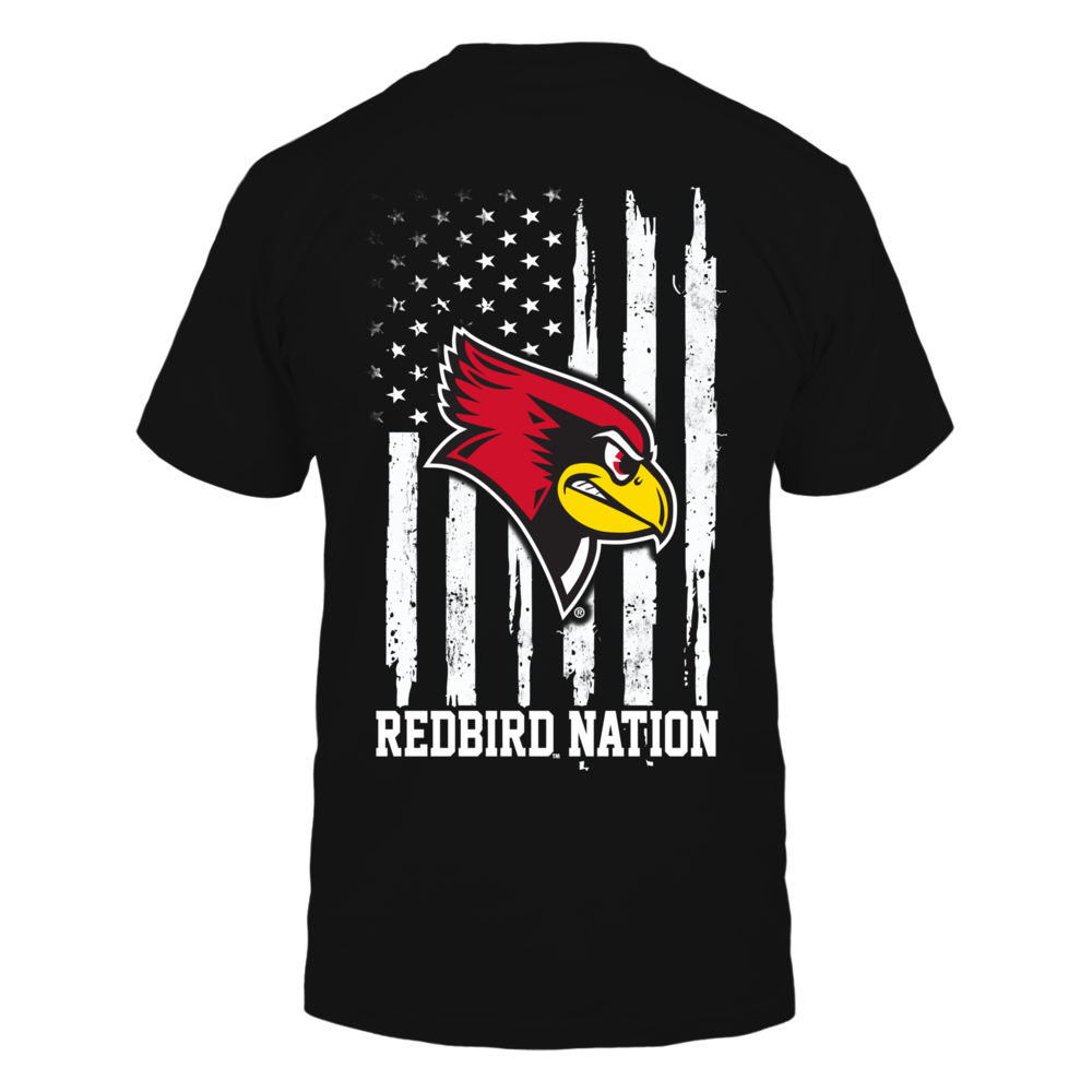 Illinois State Redbirds - Nation Flag Back picture