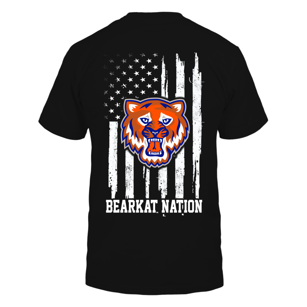 Sam Houston State Bearkats - Nation Flag Back picture