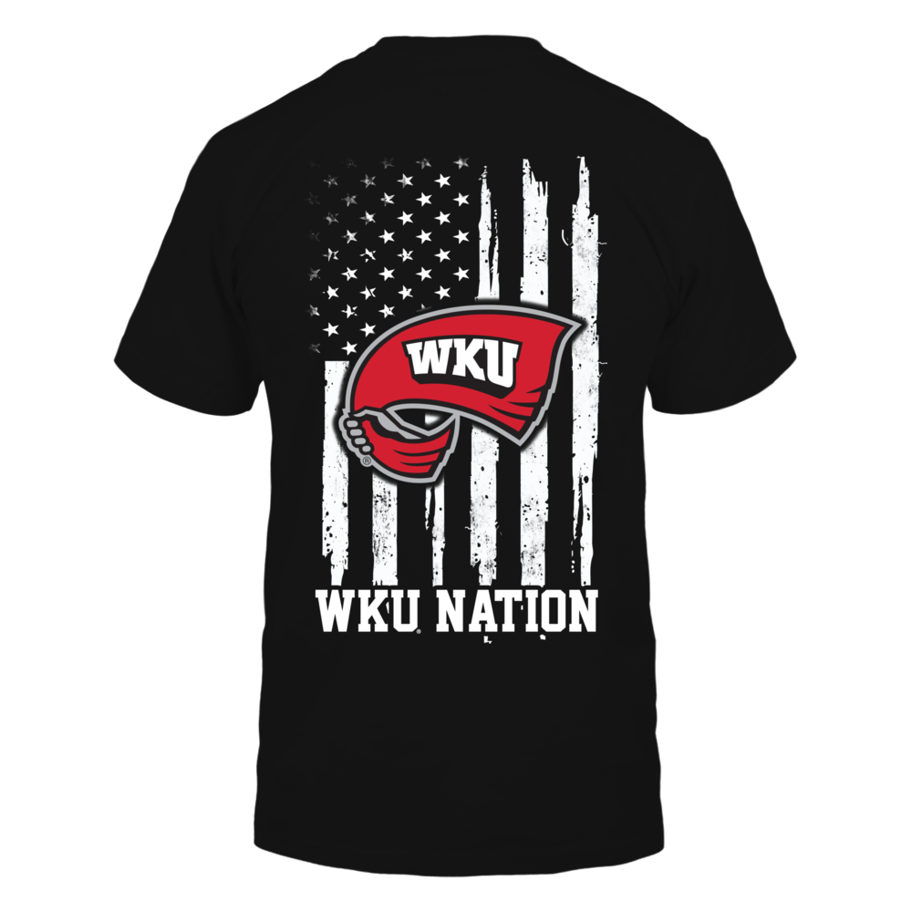 Western Kentucky Hilltoppers - Nation Flag Back picture