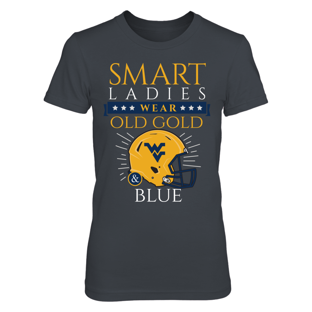 West Virginia Mountaineers Smart Ladies Wear Old Gold & Blue! FanPrint