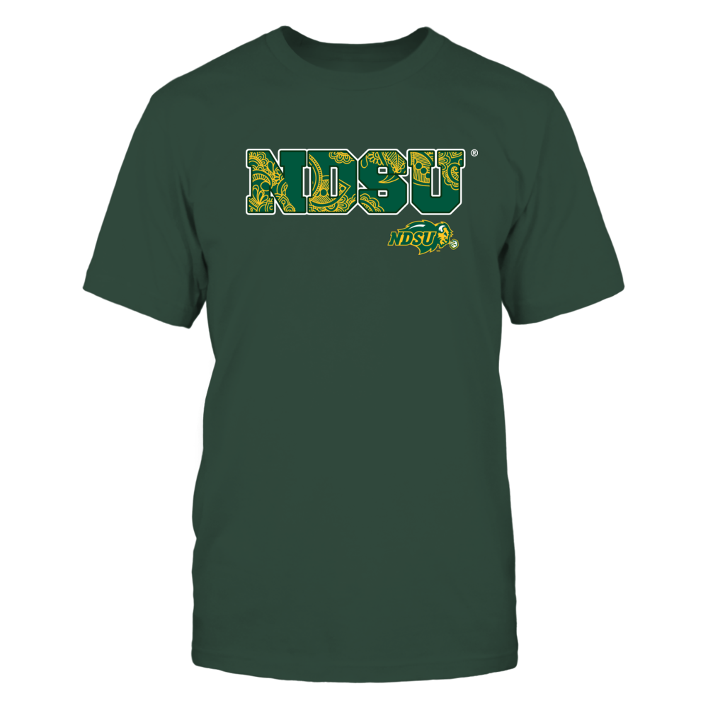 North Dakota State Bison - Mandala name Front picture