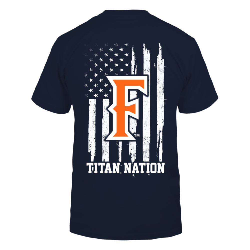 Cal State Fullerton Titans - Nation Flag Back picture