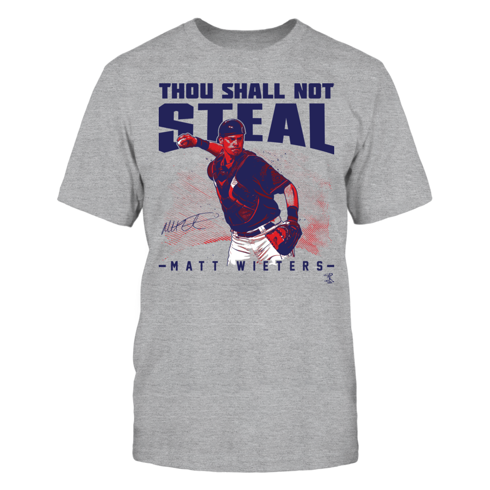 Matt Wieters Thou Shall Not Steal - Matt Wieters FanPrint