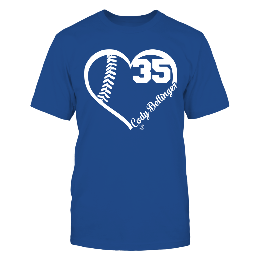 Cody Bellinger - Heart Number Front picture