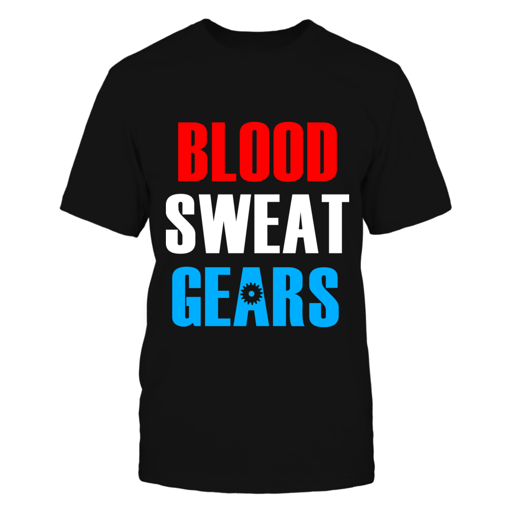 TShirt Hoodie Blood Sweat Gears Off-road Tee FanPrint