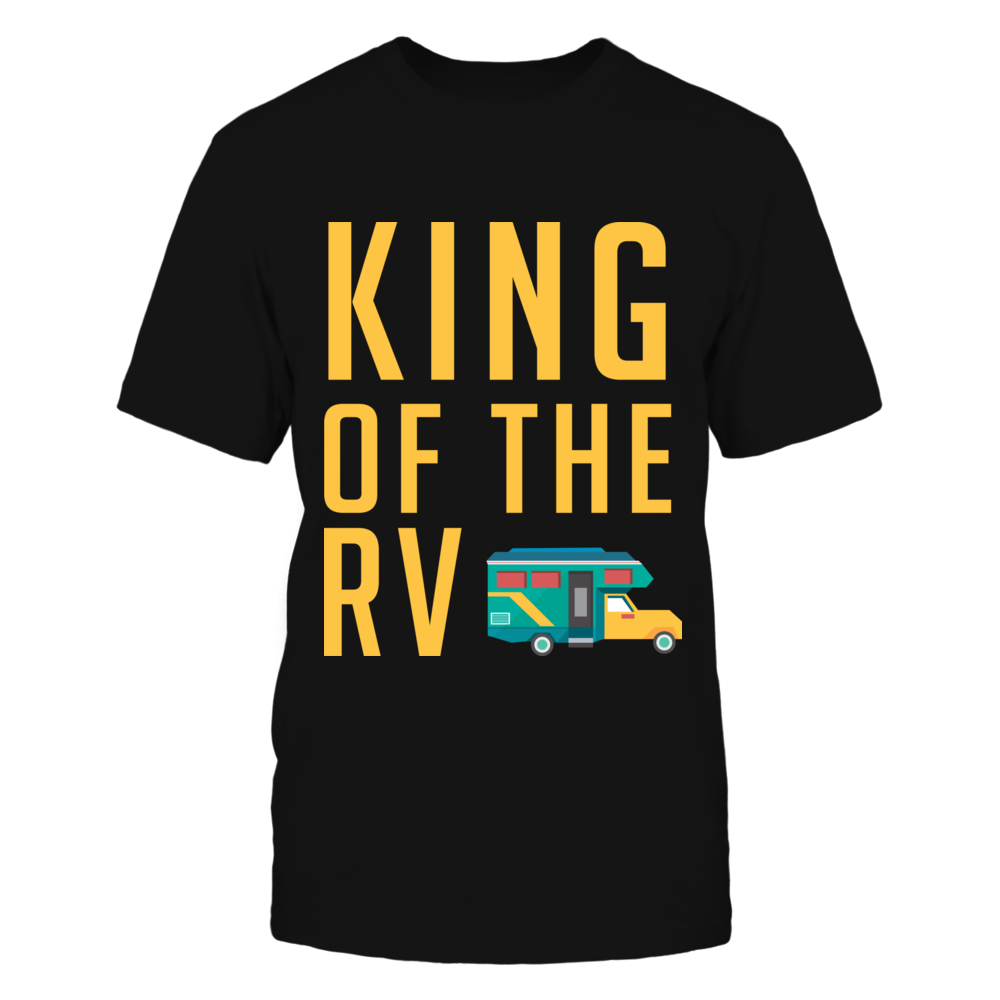 King Of The RV Camping Tshirt Front picture