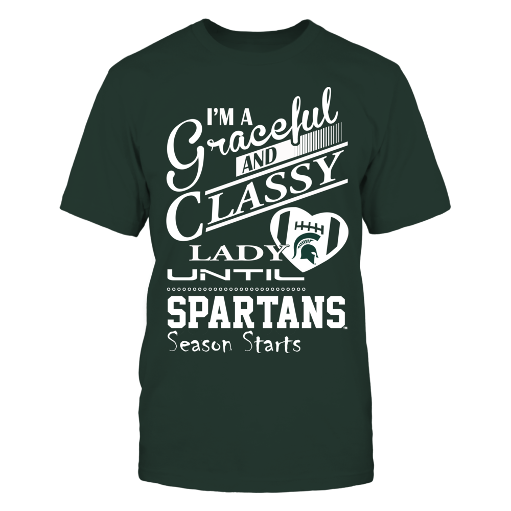 Michigan State Spartans - Graceful and Classy Lady Front picture