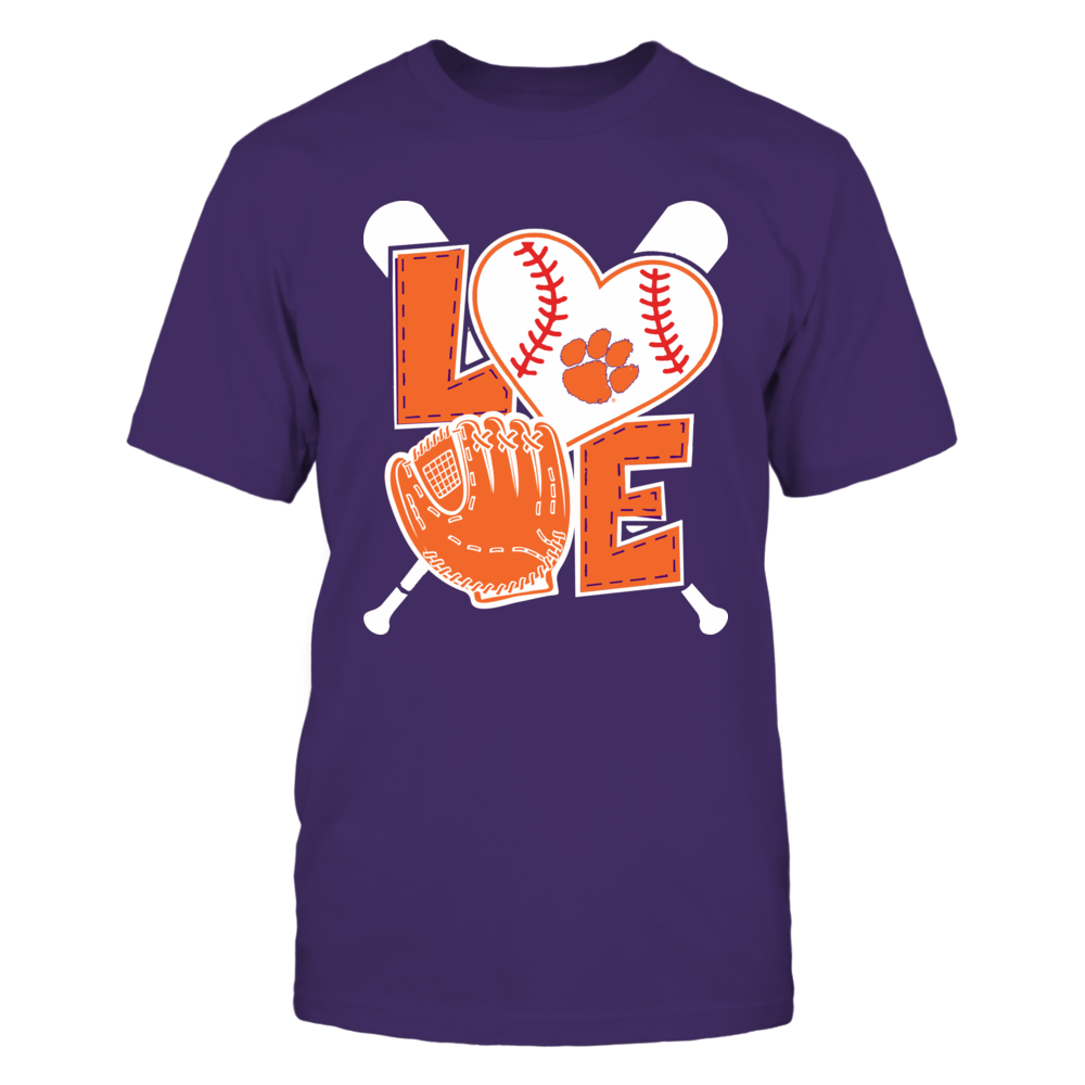 Clemson Tigers - Love baseball Front picture