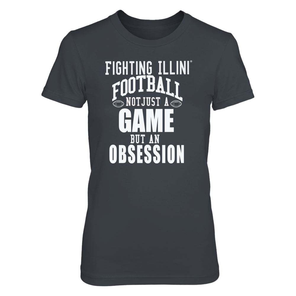 Fighting Ilini Football Fans - Not Just a Game, but an Obsession Front picture