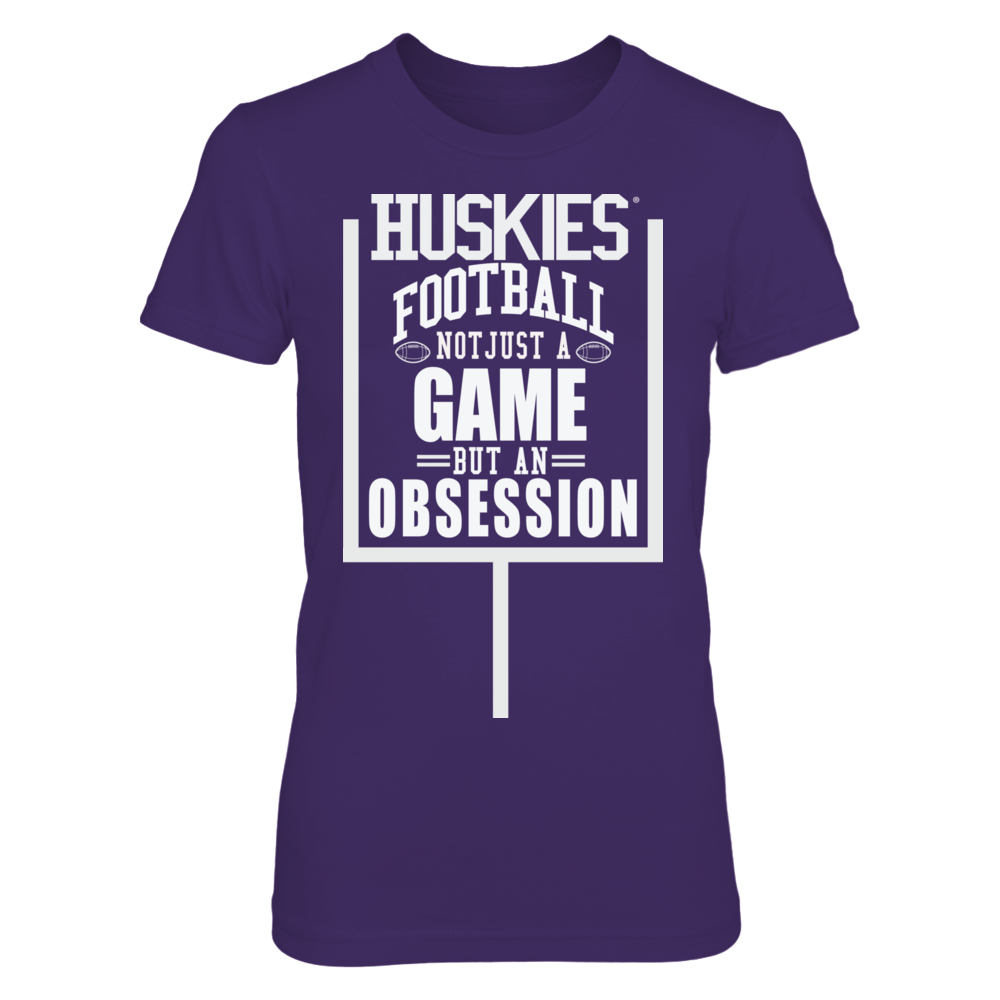 Washington Huskies Football- Not just a Game, but an Obsession Front picture