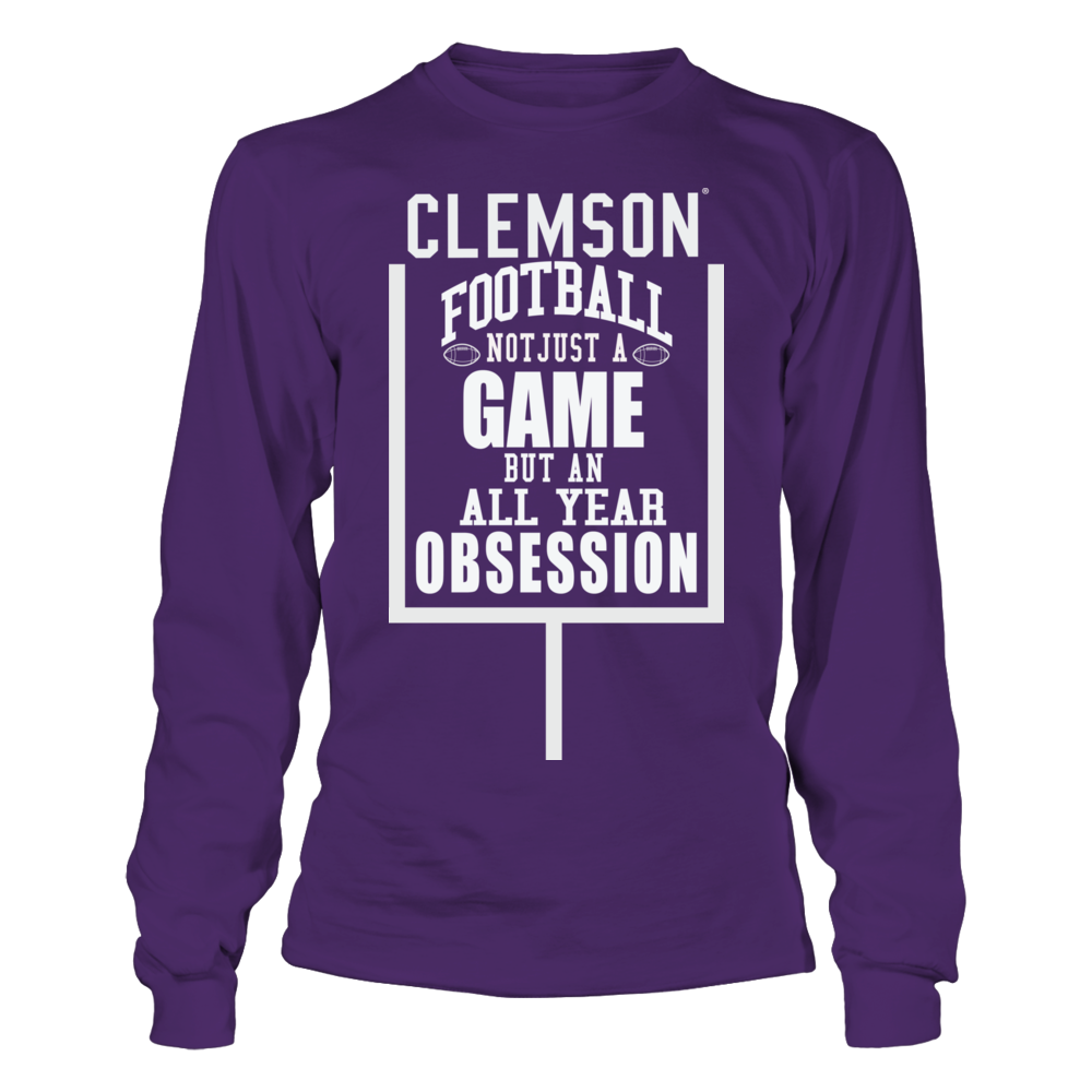Clemson Tiger Football - Not just a Game, but an Obsession Front picture