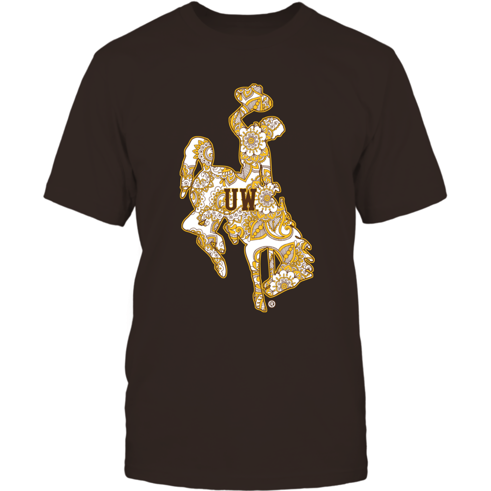 Wyoming Cowboys - Mandala pattern Front picture