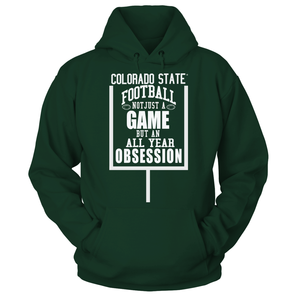 Colorado State Football - Not Just a Game, but an Obsession Front picture