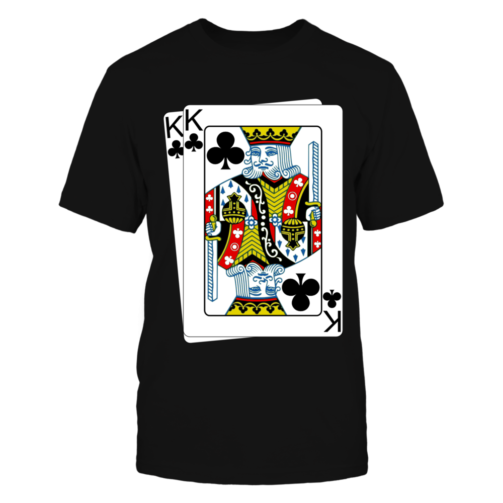 King Of Club Poker Tshirt Front picture