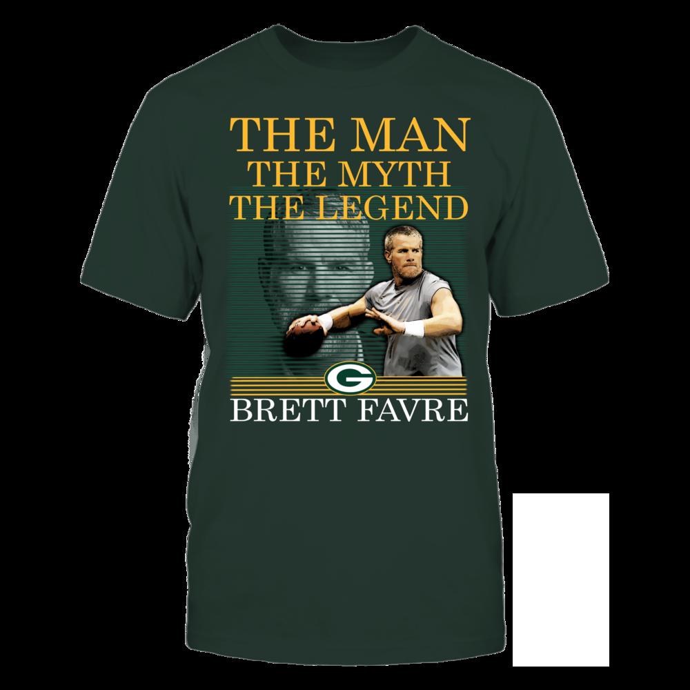 Brett Favre - Man Myth Legend Front picture