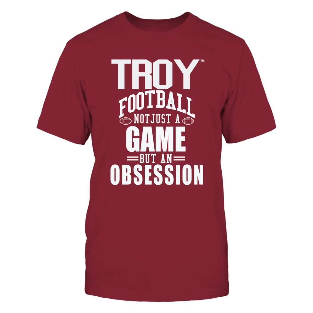 Troy Univ Football - Not Just a Game, but an Obsession Front picture