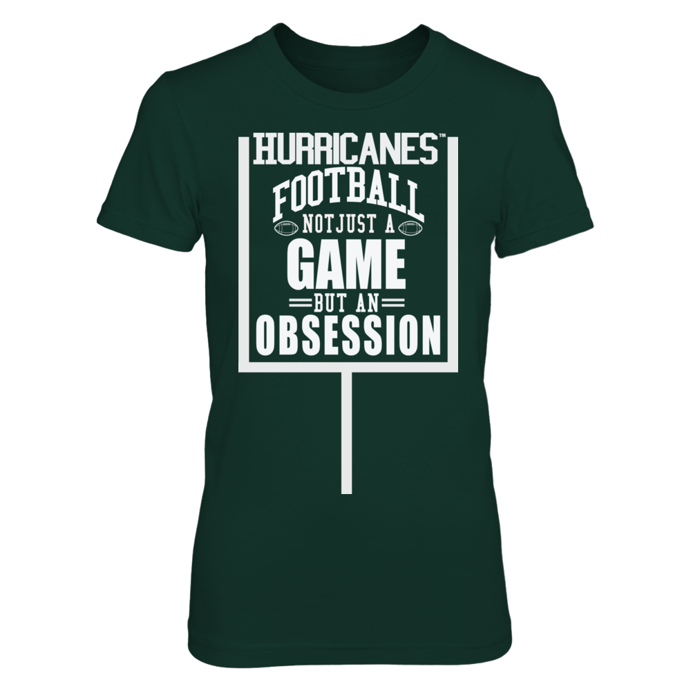 Univ Miami Football - Not Just a Game, But an Obsession Front picture