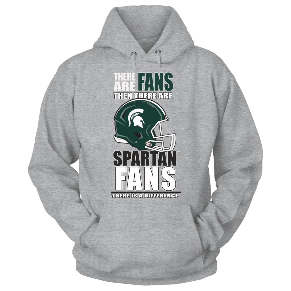 Michigan State Football Fans - There is a Difference Front picture