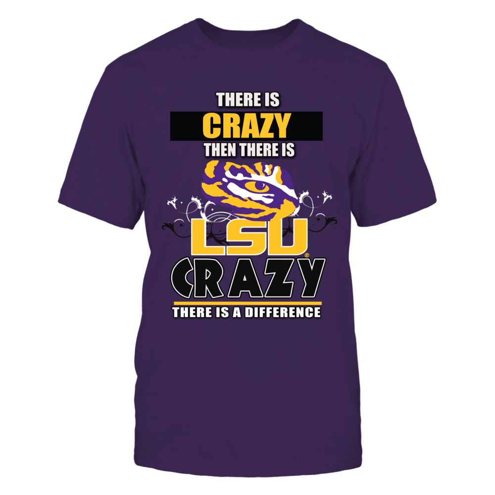 LSU Tigers LSU Fighting Tigers Crazy Fans FanPrint