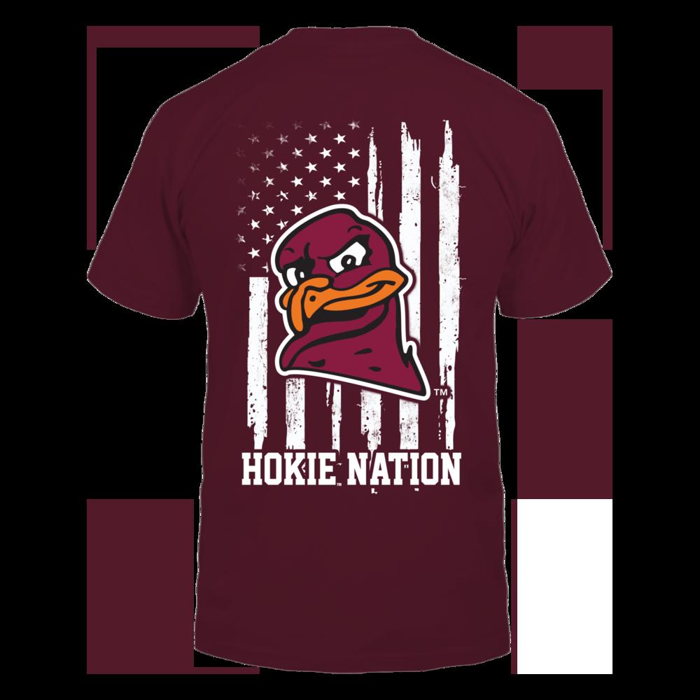 Virginia Tech Hokies - Nation Flag Back picture
