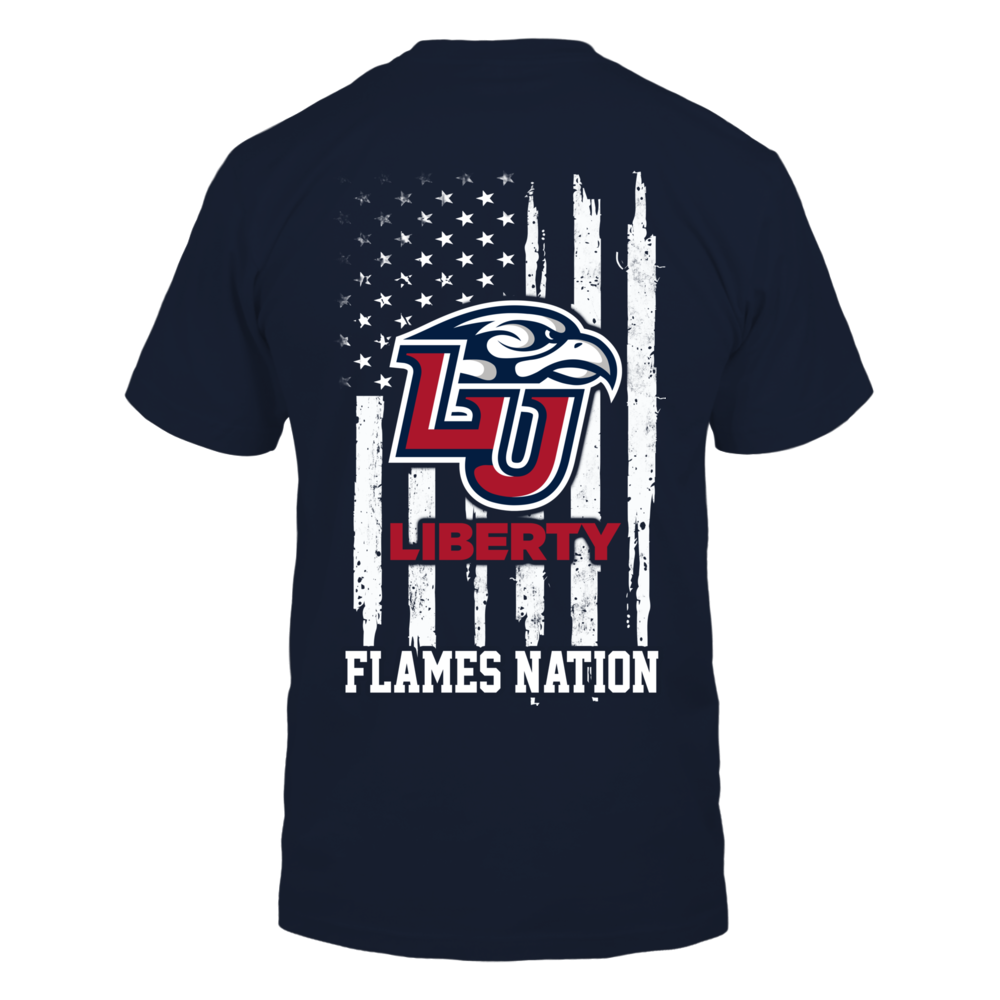 Liberty Flames - Nation Flag Back picture