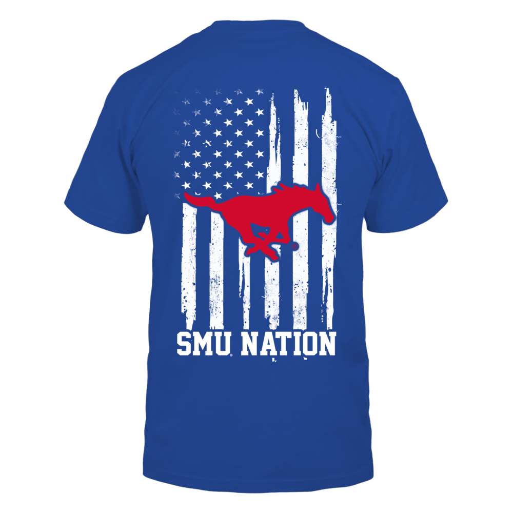 SMU Mustangs - Nation Flag Back picture