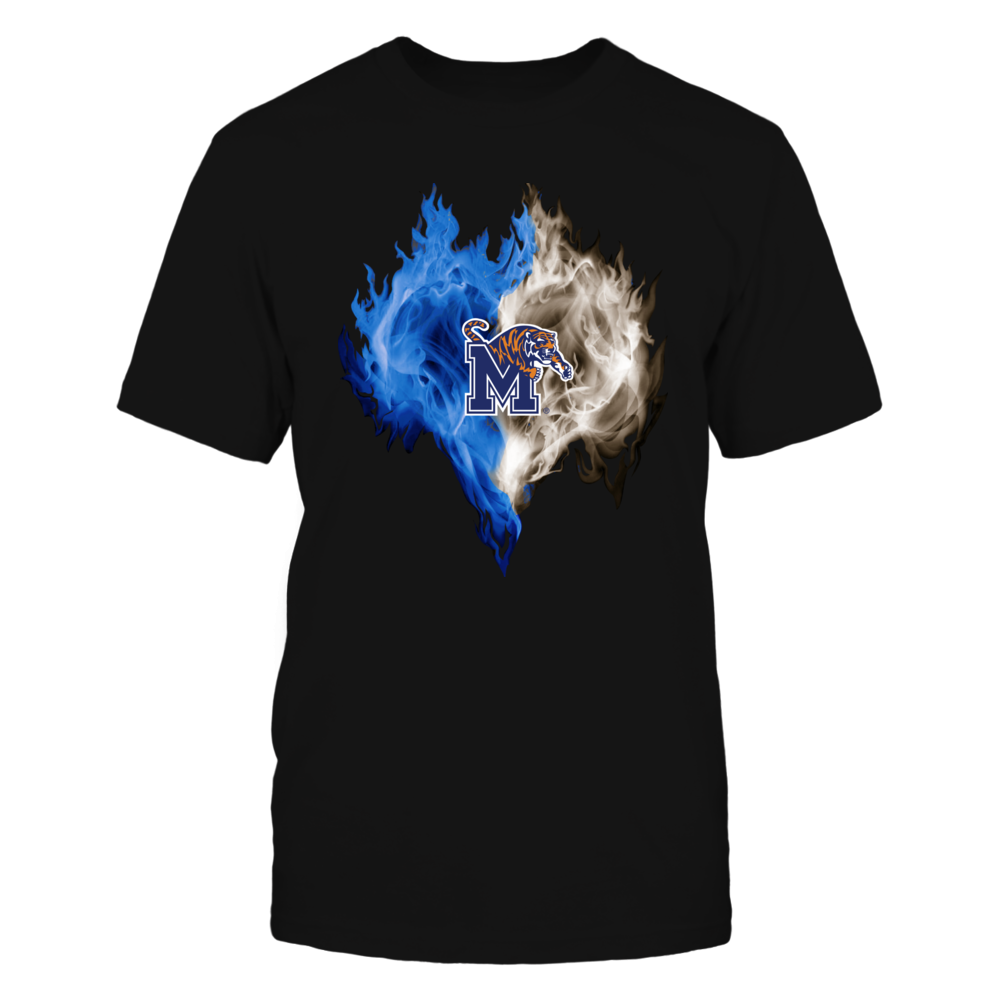 Memphis Tigers - Ice heart Front picture