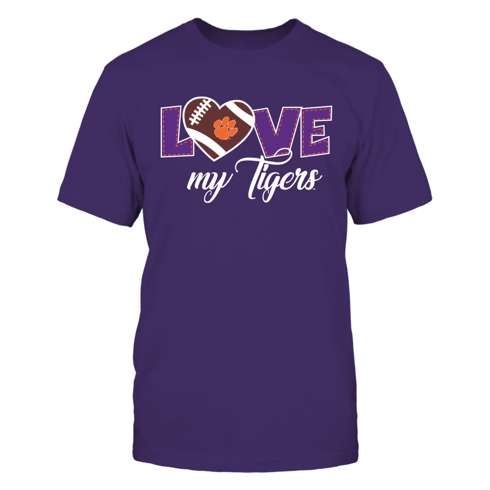 Clemson Tigers - Love my Tigers Front picture