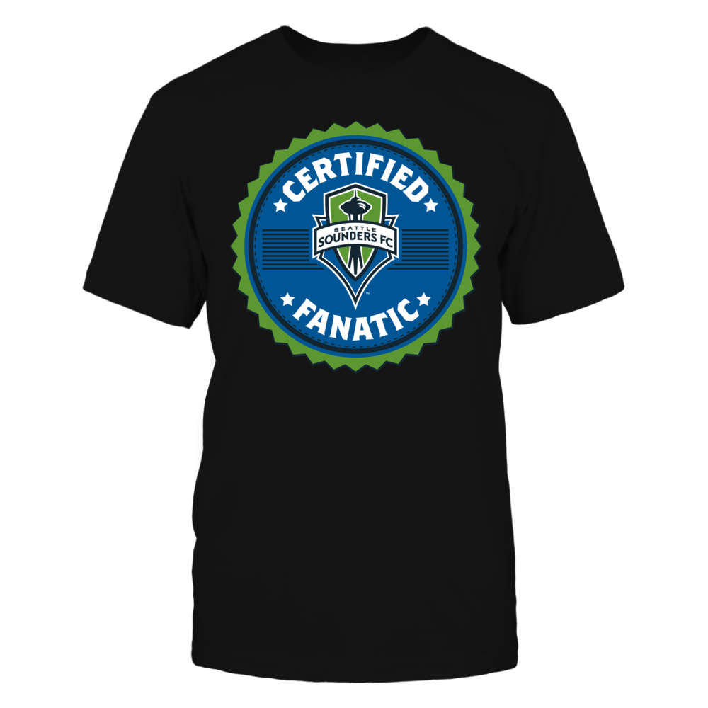 Certified Seattle Sounders Fanatic Front picture