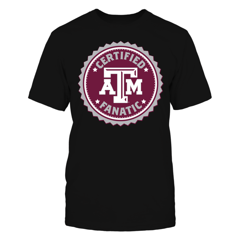 Certified Texas A&M Fanatic Front picture