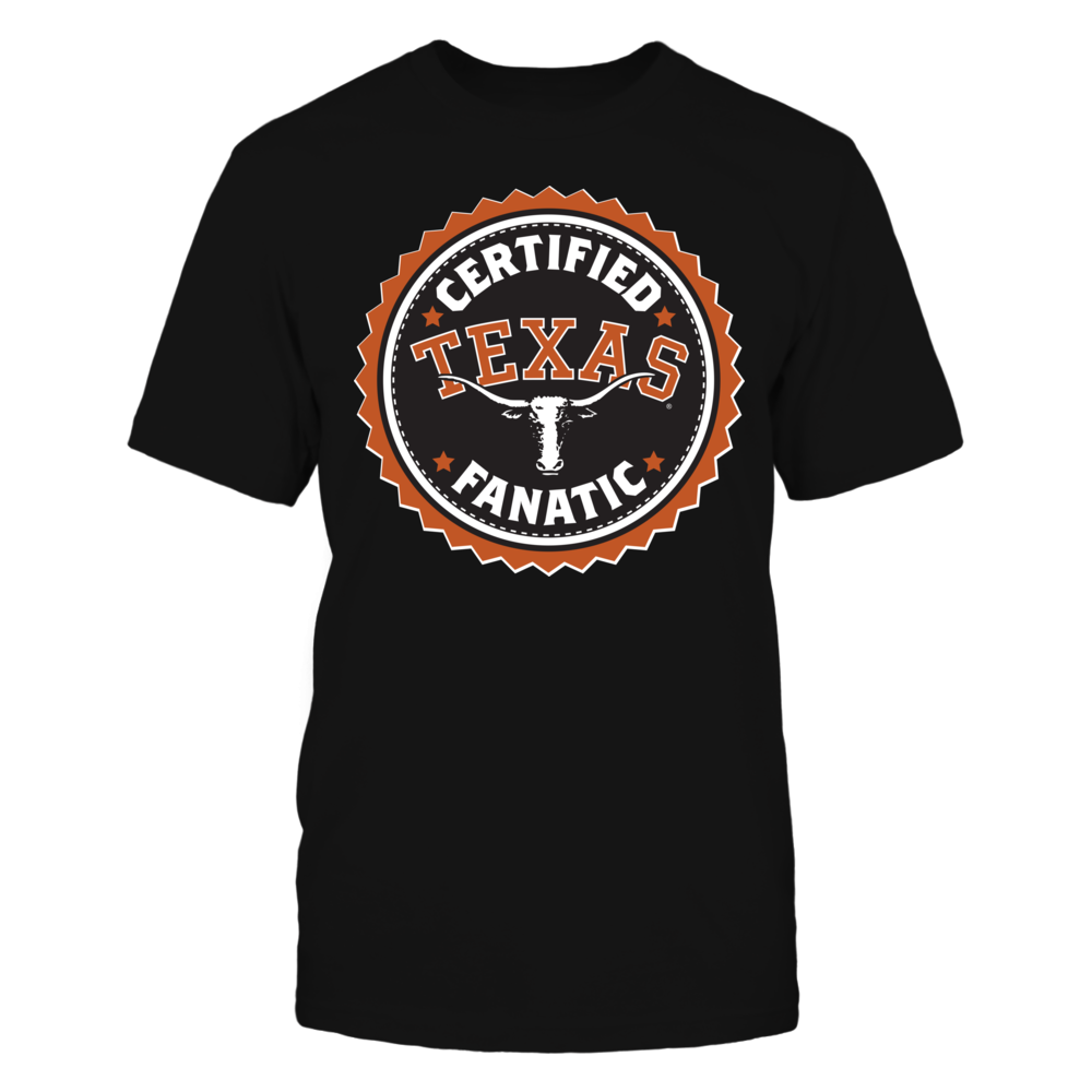 Certified Texas Longhorns Fanatic Front picture