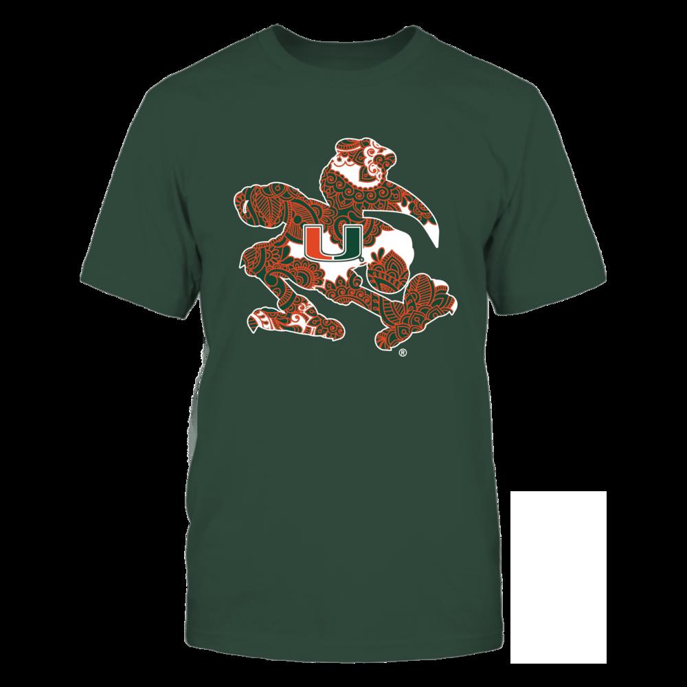 Miami Hurricanes - Mascot Mandala Front picture