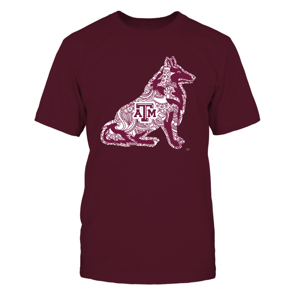 Texas A&M Aggies - Mascot Mandala Front picture