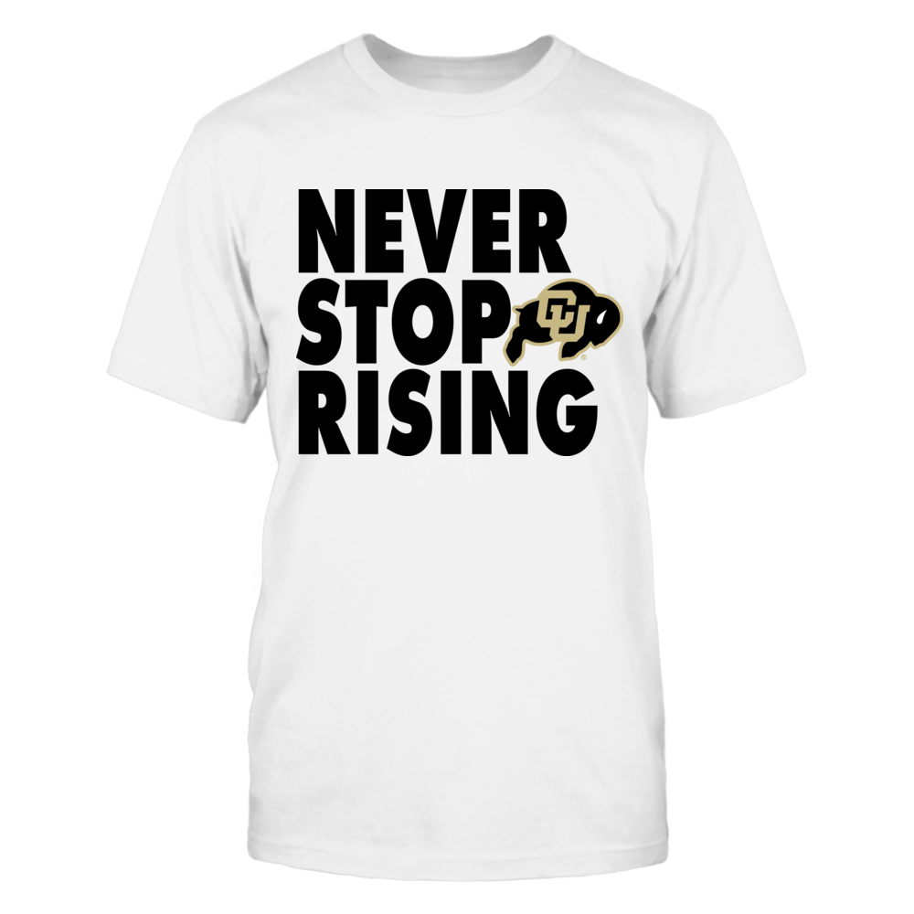 Never Stop Rising Big Bold Front picture