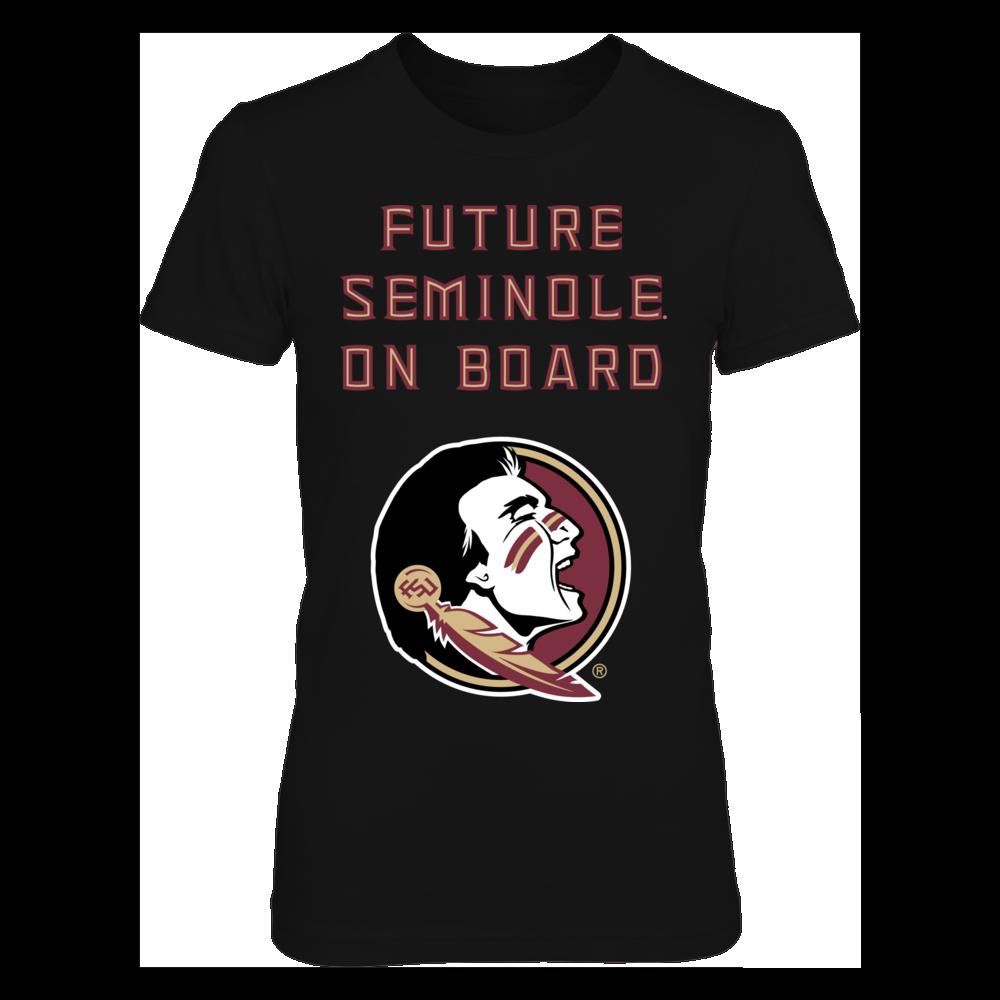 Florida State Seminoles Pregnant Future FSU Seminole On Board FanPrint