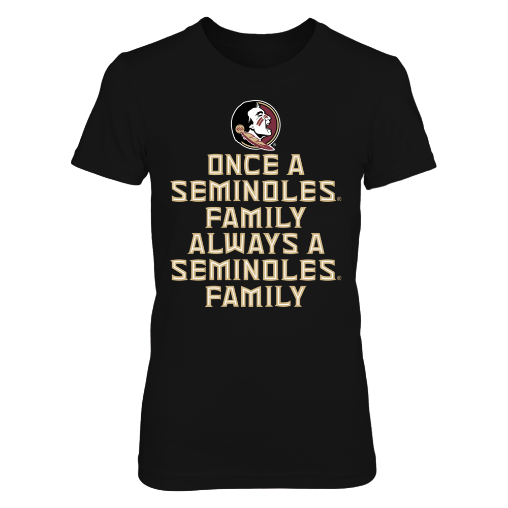 Florida State Seminoles Once a Seminoles Family Always a Seminoles Family FanPrint