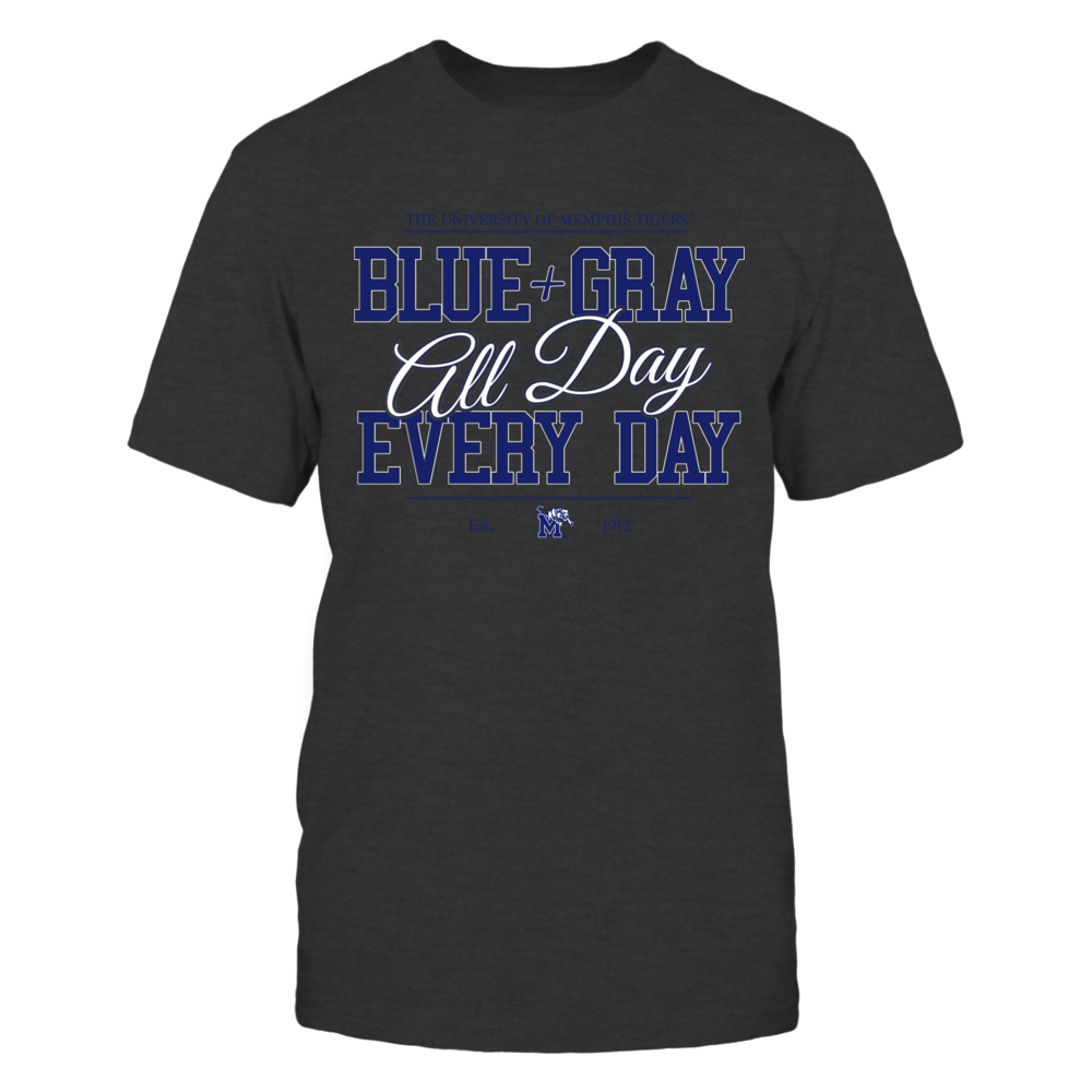 University of Memphis Blue+Gray All Day Front picture