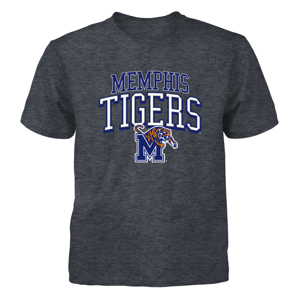 Memphis Tigers Arched w Logo Front picture