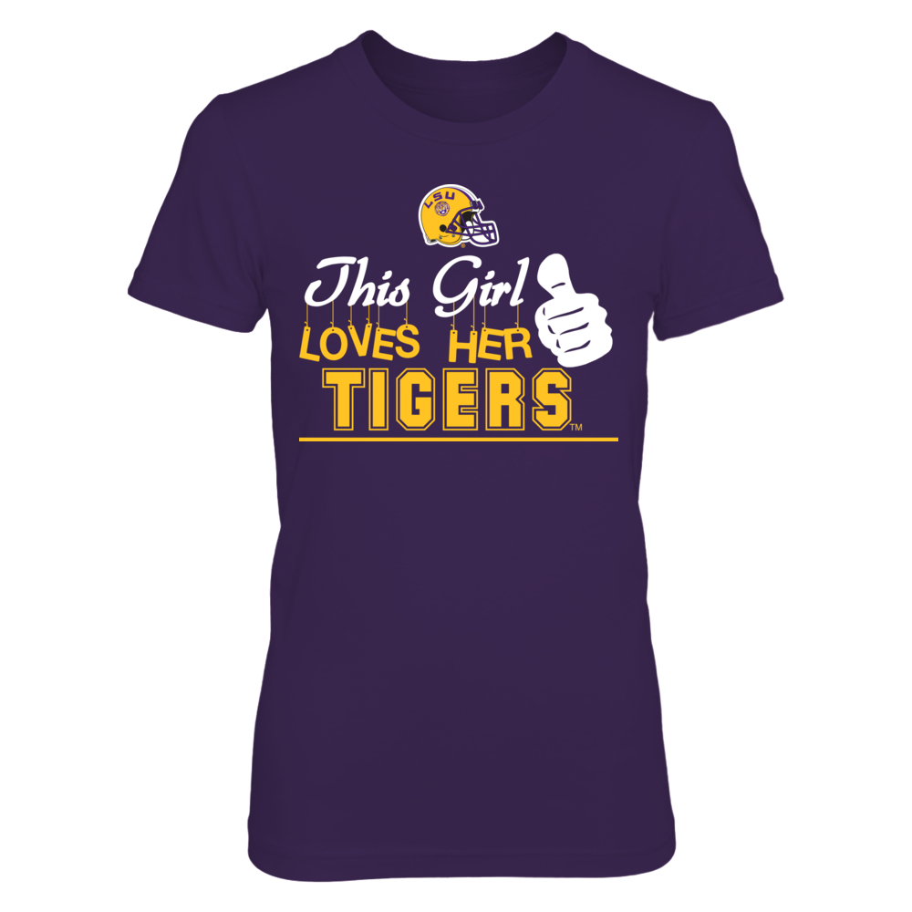 This Girl Loves Her LSU Tigers Front picture