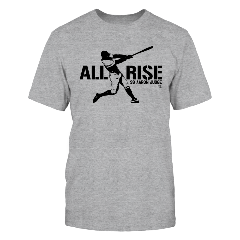 Aaron Judge - All Rise - Black Print Front picture