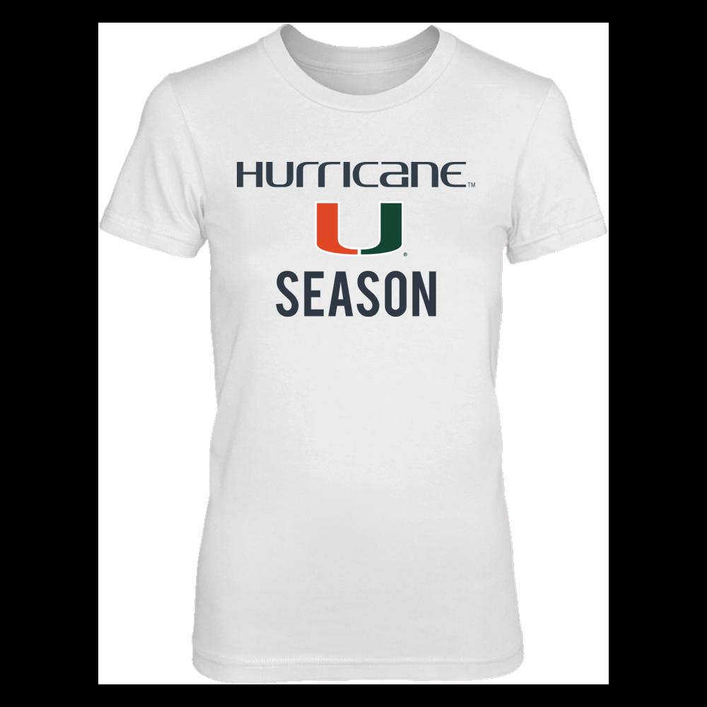 Miami Hurricanes Miami Hurricane Season FanPrint