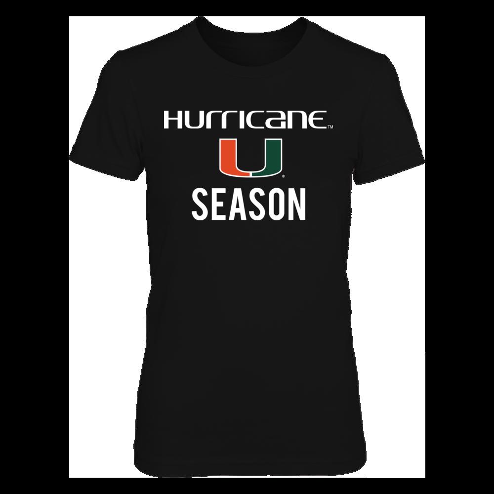 Miami Hurricanes Hurricane Nation FanPrint