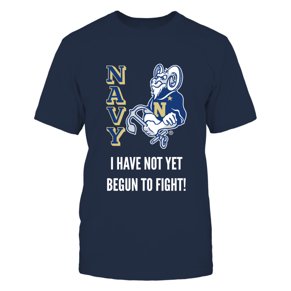 Bill the Goat Navy Midshipmen T Shirt Front picture